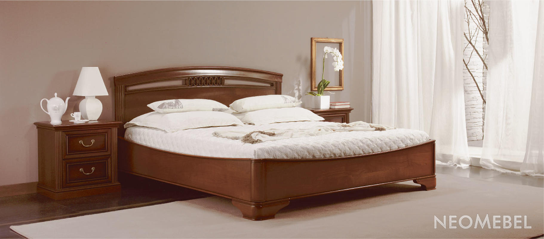 Кровати классические фото